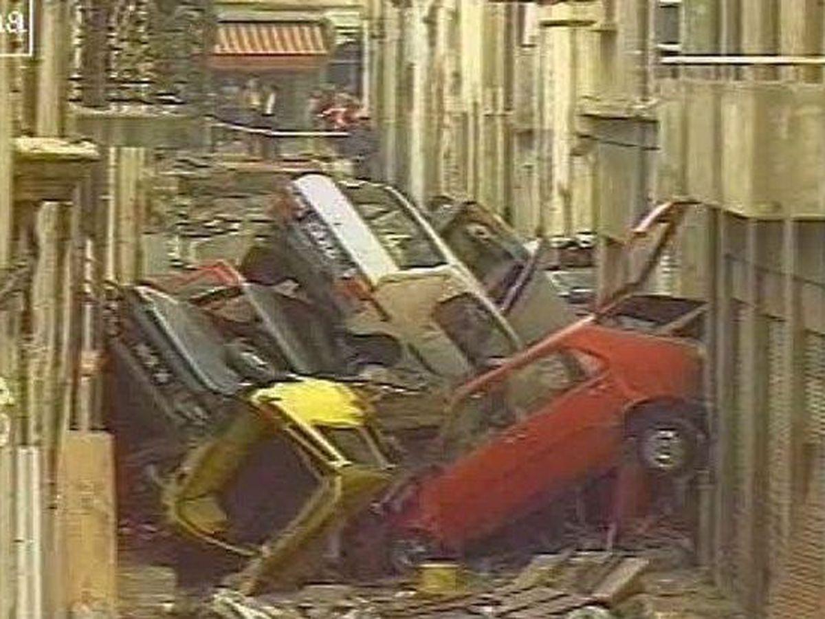 Efectele inundațiilor din Nîmes din 3 octombrie 1988